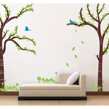 Love Twin Tree Wall Decal by Pop Decors