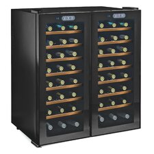 Silent Series 48 Bottle Dual Zone Thermoelectric Wine Cooler