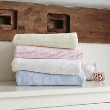 Soft Cotton Cellular Cot Bed Blanket