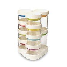 SpiceStore™ Carousel Spice Jars (Set of 10)