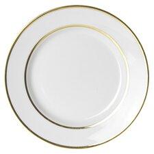 "Gold Double Line 7.5"" Salad / Dessert Plate (Set of 6)"
