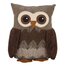 Owl Fabric Floor Fixed Door Stop