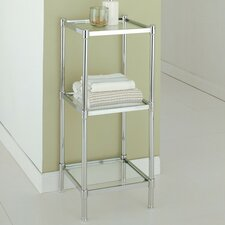"Glacier 13.25"" W x 33.75"" H Bathroom Shelf"
