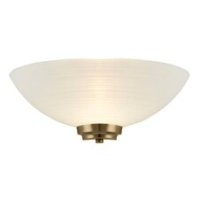 1 Light Flush Wall Light
