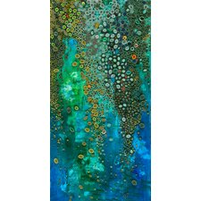 'Waterfall' Graphic Art Print on Wrapped Canvas