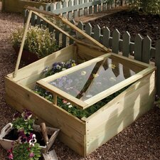 Rowlinson 1m W x 0.8m D Cold Frame Greenhouse