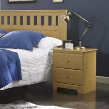 Eagle River 2 Drawer Nightstand by Lang Furniture