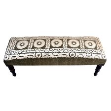 Wood and Upholstered Bedroom Bench by Imports Decor