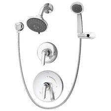 Elm Pressure Balance Hand Shower System with Lever Handle
