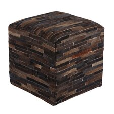 Cowhide Pouf Ottoman by Signature Design by Ashley