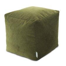 Villa Small Beanbag Cube Ottoman by Majestic Home Goods