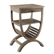 Blondelle End Table by Crestview Collection