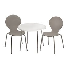 Kids 3 Piece Table and Chair Set by Gift Mark