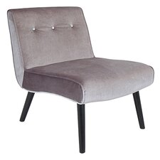 Vintage Crush Slipper Chair by LumiSource