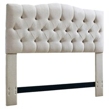 Cleveland Upholstered Panel Headboard by Three Posts