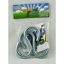 Large End S-Hooks (Set of 2)