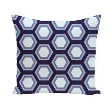 Alexi Geometric Print Outdoor Pillow