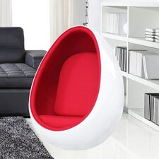 Egg Hanging Balloon Chair by Fine Mod Imports