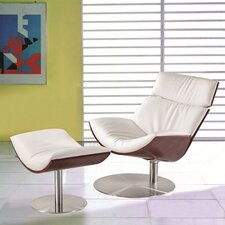Impress Lounge Chair and Ottoman Set by Fine Mod Imports