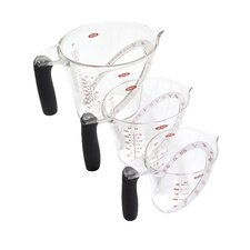 Good Grips 3 Piece Angled Measuring Cup Set