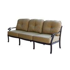 Nassau Deep Seating Sofa with Cushion by Darlee