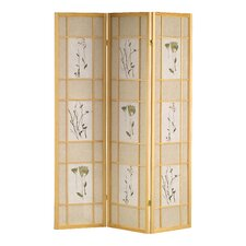 70 x 54 Shoji 3 Wood 10.6 x 10.6 Room DividerPanel Room Divider by Wildon Home ®