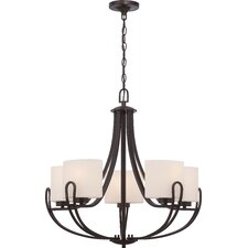 Lola 5-Light Shaded Chandelier