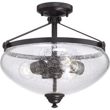 Laurel 3-Light Semi Flush Mount