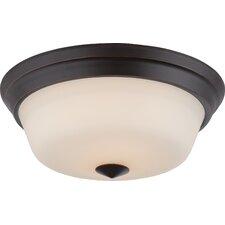 Calvin 2-Light Flush Mount