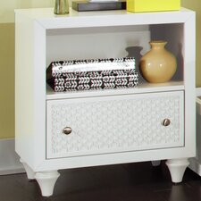 Amanda 1 Drawer Nightstand by My Home Furnishings