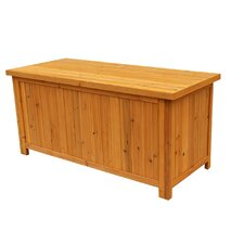 67 Gallon Wood Deck Box