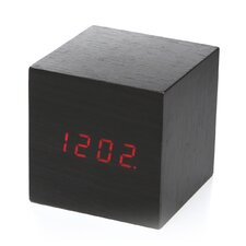 Clap-on Cube Alarm Tabletop Clock