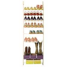 Customizable 12-Tier Shoe Rack