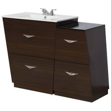 43.5 Single Modern Bathroom Vanity Set by American Imaginations