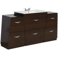 63 Single Modern Bathroom Vanity Set by American Imaginations