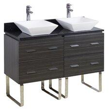 48 Double Modern Bathroom Vanity Set by American Imaginations