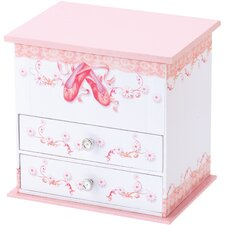 Abigail Ballet Shoes Musical Jewellery Box