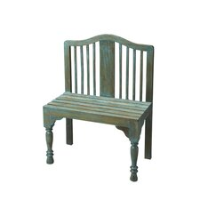 Heritage Solid Wood Entryway Bench by Butler