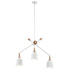 Danika Linear 3-Light Geometric Pendant