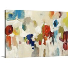 'Gum Drop' by Sydney Edmunds Print of Painting on Wrapped Canvas