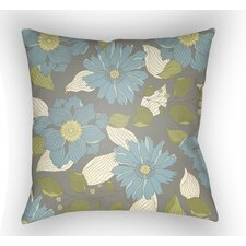 Lyda Flower Throw Pillow by August Grove