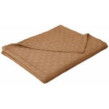 Stephen Basket Weave Cotton Blanket