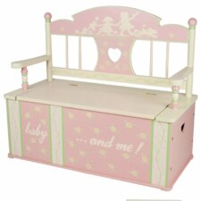 Rock-A-My-Baby Kids Bench with Storage Compartment