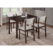quick view alesha wood leg dining table - Modern Wood Kitchen Table