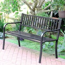 Traditional Steel Park Bench