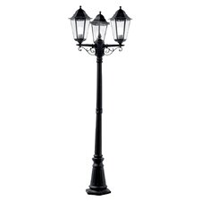 3 Light 195cm Post Lantern Set