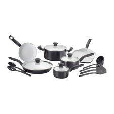 Initiatives Ceramic 16 Piece Cookware Set