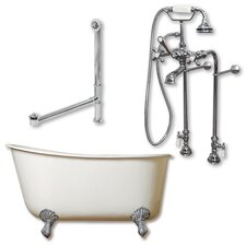 58 L x 29 W  Bathtub by Cambridge Plumbing