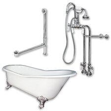 67 L x 30 W  Bathtub by Cambridge Plumbing