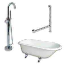 55 L x 30 W  Bathtub by Cambridge Plumbing